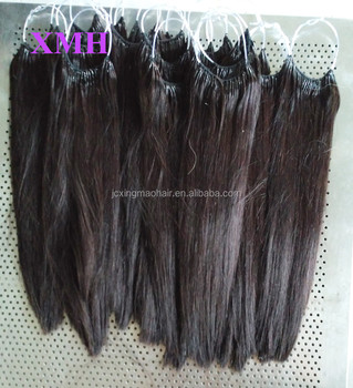 Wholesale korea knotted hair extension cotton thread hair wholesale korea knotted hair extension cotton thread hair extension with two strands hair pmusecretfo Gallery