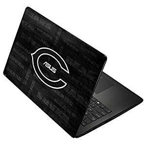 NFL Chicago Bears Asus X502CA 15.6 Skin - Chicago Bears Black & White Vinyl Decal Skin For Your Asus X502CA 15.6
