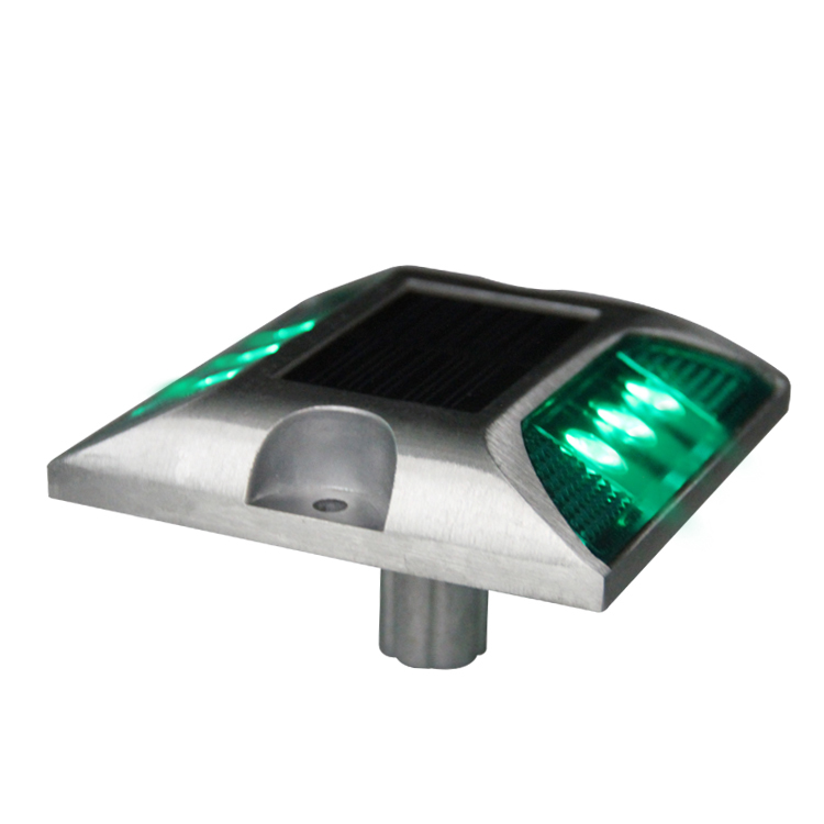 Honest Casting Aluminum Road Stud Light Outdoor Solar Powered Lamp For Pathway Road Durable Hot Sale 2019 Roadway Safety