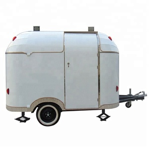 China Manufacture price electric bike food cart trailer for Europe