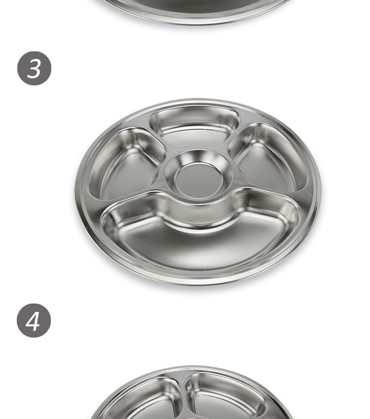 Stainless steel fast food tray HC-00621-C