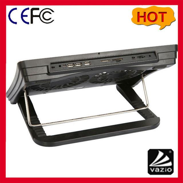 8 Grados Ángulo Ajustable Portátil Refrigerador Pad Con Hub