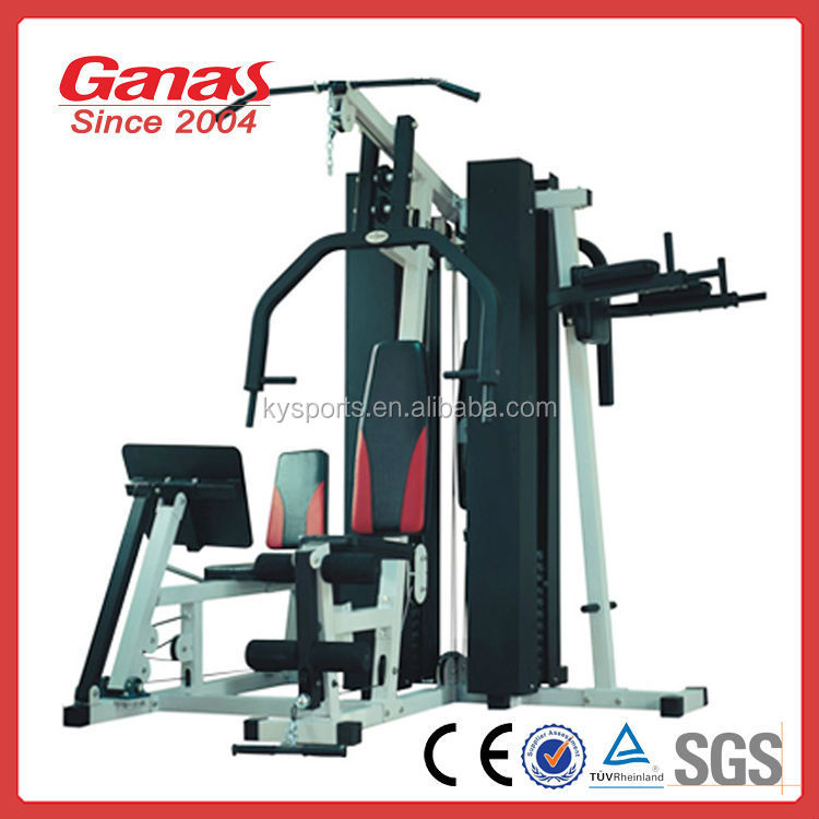Ganas new arrival fitness equipment five stations KY-3012 multi-gym equipment