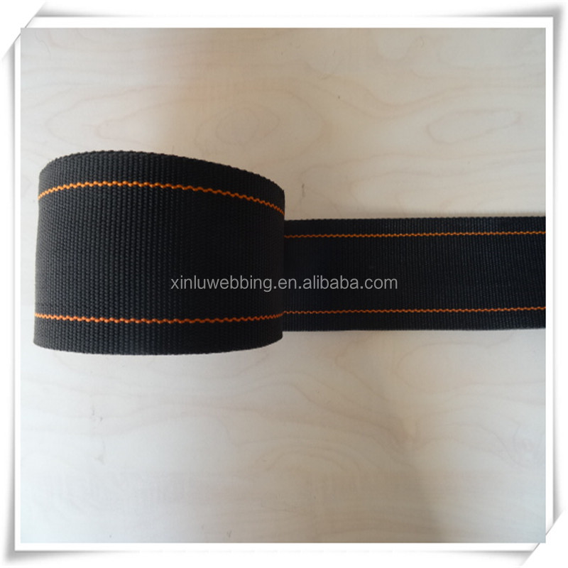 Safety PP stripe webbing flat belt