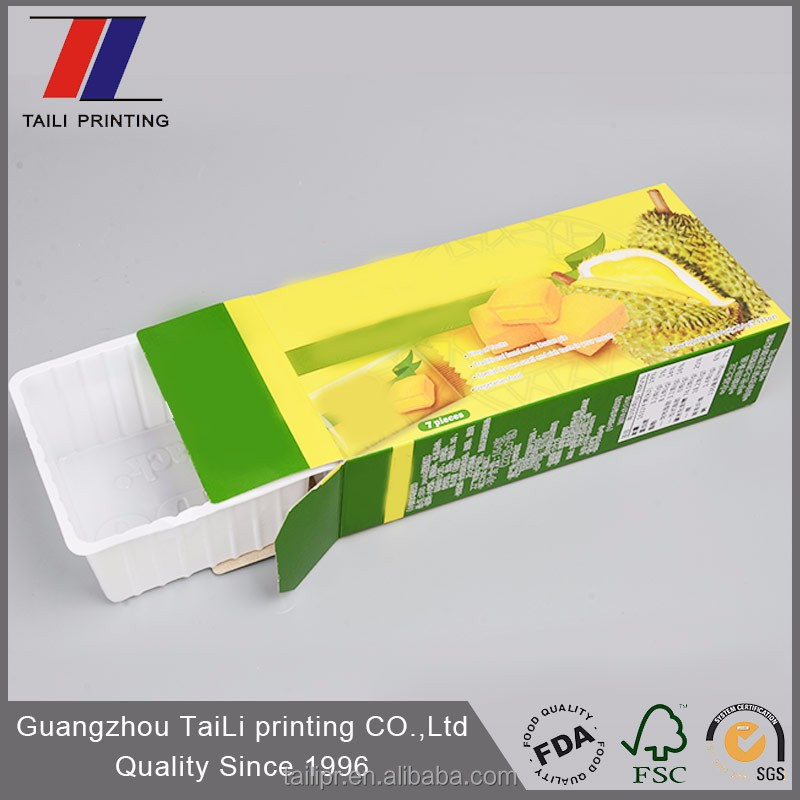 Custom Printed Food Packaging/Biscuit Cookie Packaging/Cookie Box