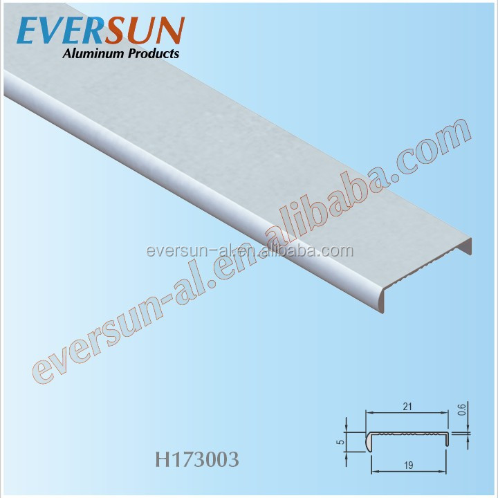 Aluminum Metal Table Edge Banding For Furniture Designs
