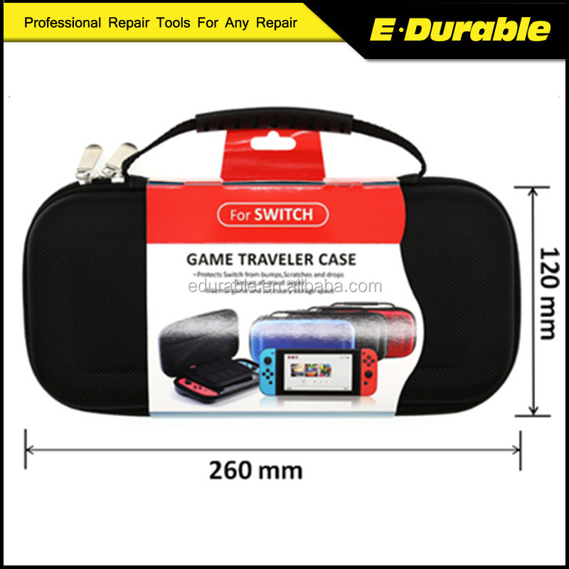 2017 Hot Sale Travel Carrying Bag Game Console Protective Case for Nintendo Switch