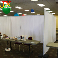 Backdrop adjustable pipe and drape kits for wedding room dividers