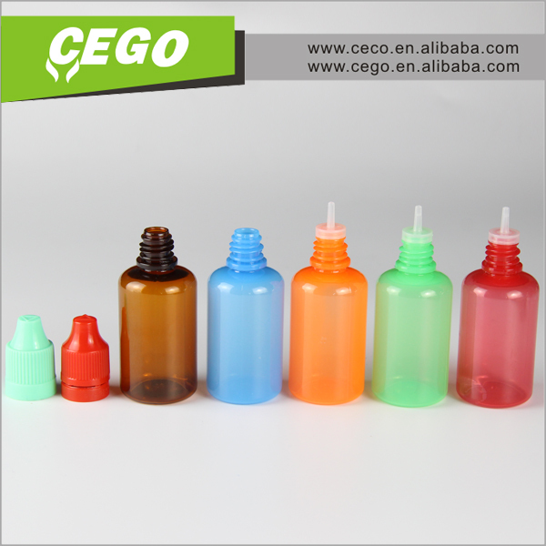 unicorn bottle 10ml 15ml 20ml 30ml 50ml with Acrylic childproof cap for e-liquid or e-juice