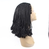 Kinky Twist Lace Front African Braided Wig