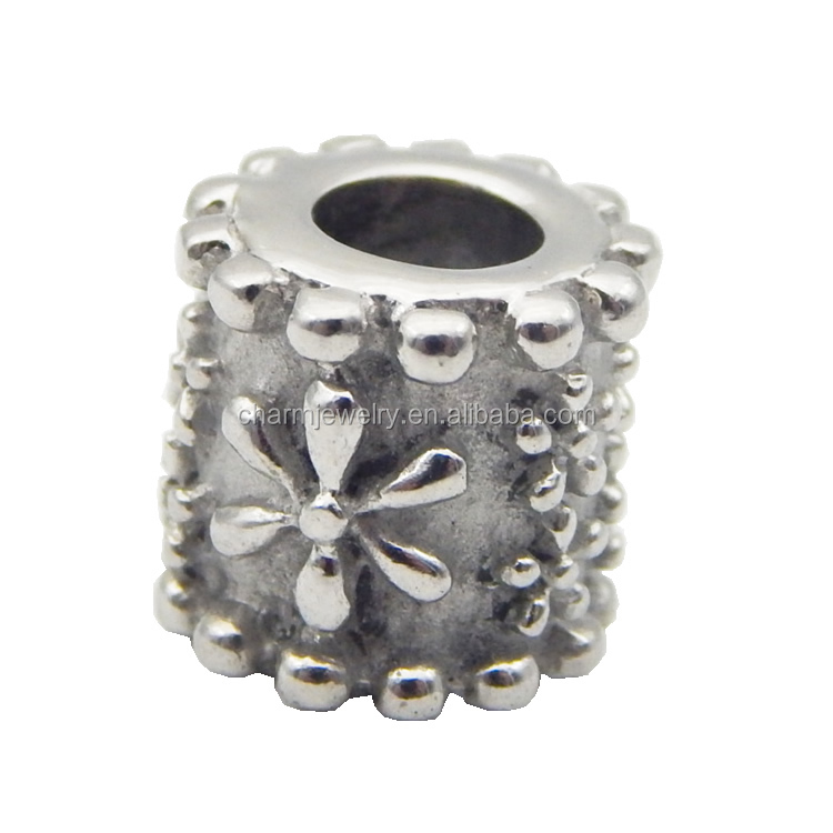 Charms Wholesale Handemade Spacer Bead For Jewelry Making making 5mm big hole beads BXGZ066