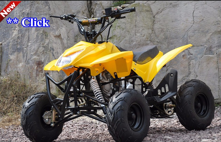 air-cooled single cylinder 110cc atv quad bike amphibious vehicle for play