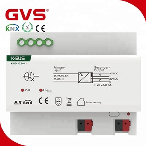 KNX 640mA Power supply KNX/EIB China GVS K-bus smart home manufacturer KNX Power Supply 640mA in international standard