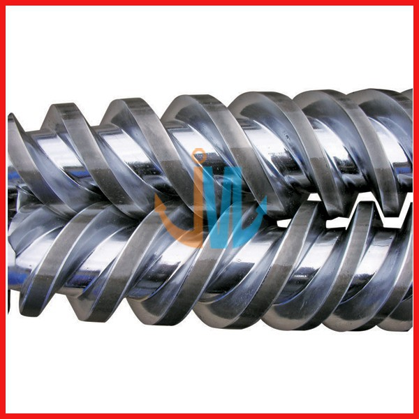 Bimetallic twin conical screw barrel/Screw cylinder for extruder machine