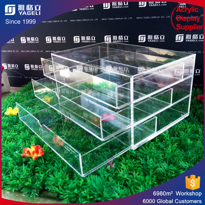 new coming acrylic drawer divider with factory direct price