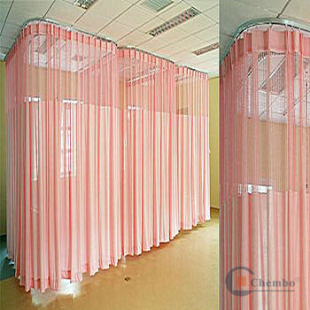 Paper Curtains Used Hospital Tap
