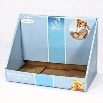 india Corrugated counter display box