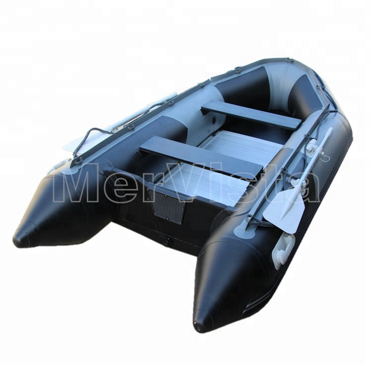 CE)2018 China High Quality PVC 4 Person Used Sale Aluminum Hull Inflatable One Person Fishing Boat