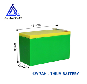 Rechargeable Solar Storage 12V 7AH Lithium LIFePO4 Battery