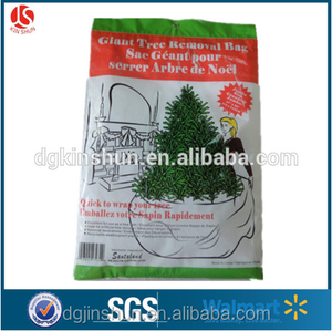 Plastic Disposable Christmas Tree Bag