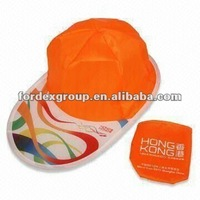 2013 latest promotion hats with 190T polyester fabric and embroidery logo