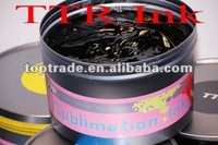 Sublimation pigment ink for offset printing