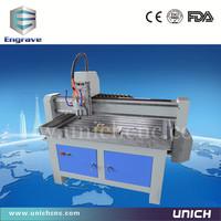 Unich!!! High speed and multipurpose stone cnc cutter/mini cnc/3d scanner for cnc machine