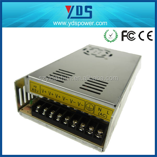 Shenzhen factory YDS OEM !!!12V 30A 360W AC/DC Universal Regulated Switching Power Supply PSU 28vdc power supply