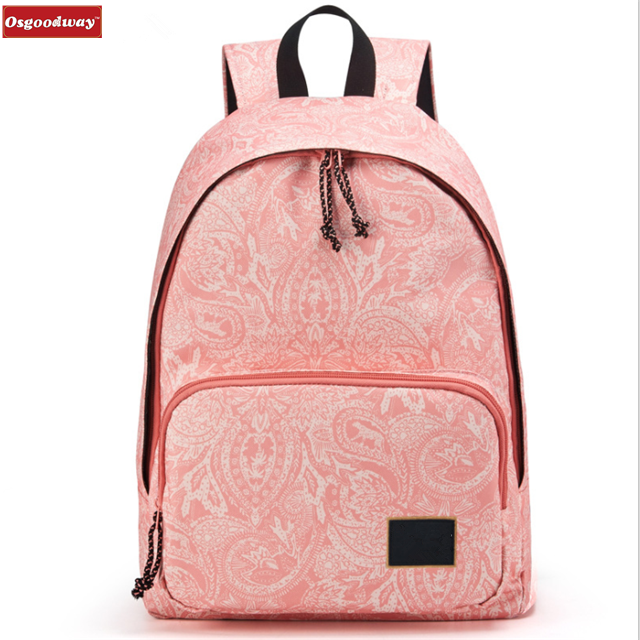 Osgoodway New Products Waterproof Cute Women Ladies Backpack for Girls Casual School Bag