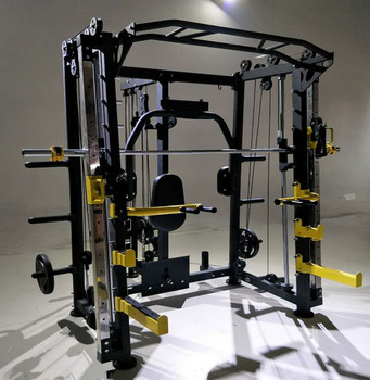 92dff9e56efc8 2017 hot sale new style professional multi functional gym equipment  exercise for sale Multifunctional Smith machine
