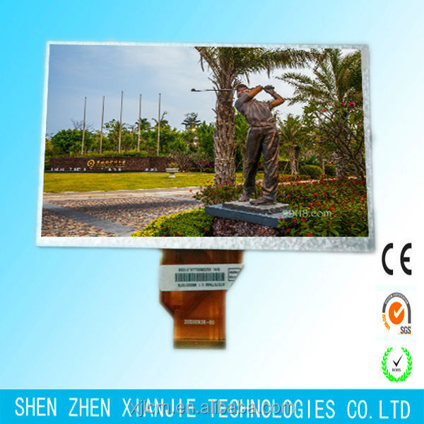 7 inch Graphic 800x480/lcd module low power