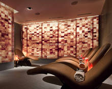 halotherapy salt room in spa center