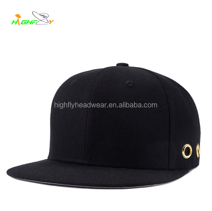 custom high quality plain new vans snapback blank yupoong militar era caps hats metal logo custom design snap back hats