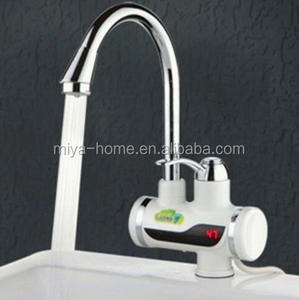High quality instant heating faucet with temperature display / electric heating faucet / instant hot water tap electric faucet