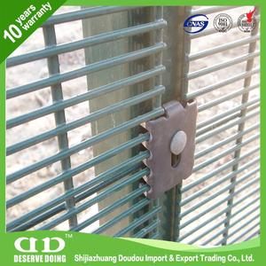 Guardian Fence System / Galvanised Security Fencing / Plastic Fencing Mesh