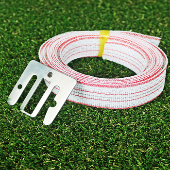 LYDITE standard rope effectively retrains animals ornamental double loop wire fence