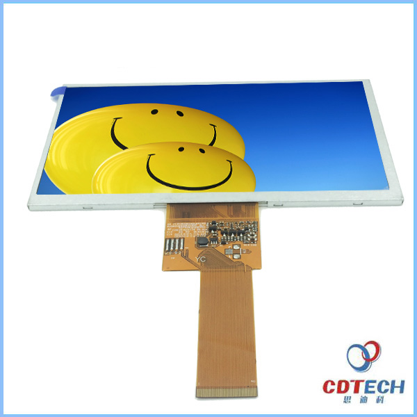 wholesale 800*480 7.0 inch very small size tft lcd screen panel for sale