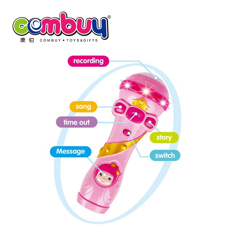 6pcs music recording battery operated kidsy toy microphone