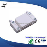plastic electronic quick connect junction box with terminal block