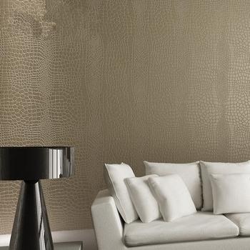 Modern Design Crocodile Leather Wallpaper Price Cheaper High Quality Interior