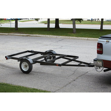 Small size car trailers cargo utility motorcycle trailers
