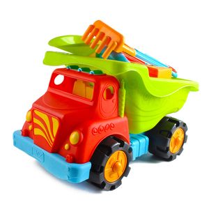 5PCS summer tool play set plastic kids sand truck toy