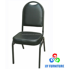 Metal dining room furniture luxury leather dining chair wholesale