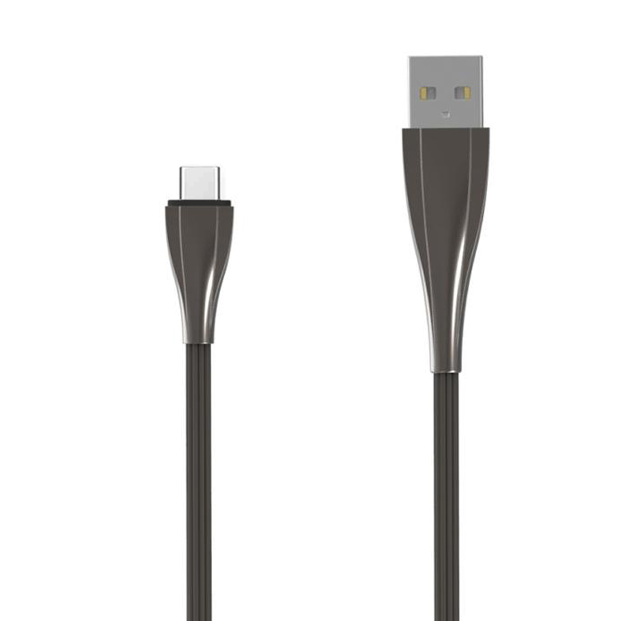 2A 1M Zinc Alloy Fast usb type c data charger line phone charging cable for samsung S8 фото