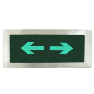 Fire fabrikanten exit sign noodverlichting