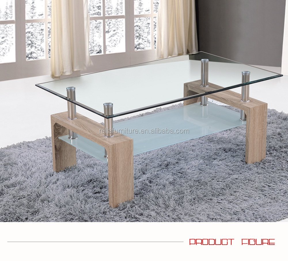 Very Fair Price Glass With Mdf Legs Coffee Table Modern Buy Mdf
