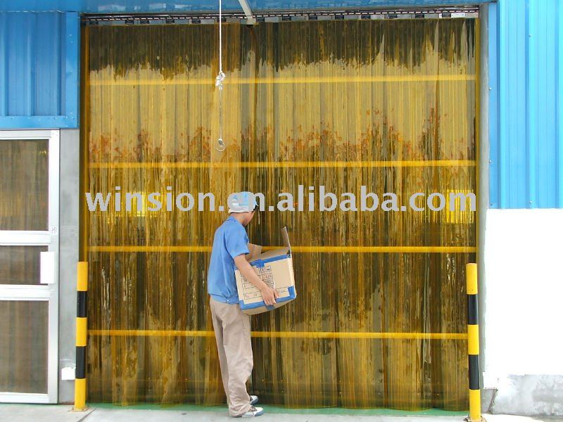 Flexible soft magnetic door screen pvc curtain