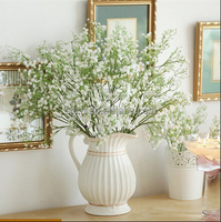 Artificial Gypsophila Floral Flower Fake Silk Wedding Party Bouquet Home Decor