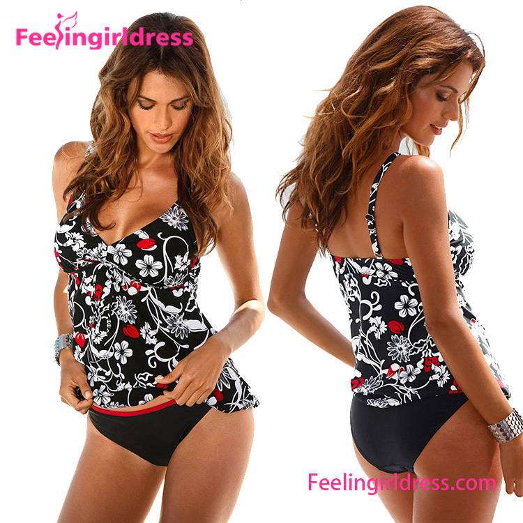 Wholesale Two Piece Beautiful Women Sexy Bathing Suit Cover Ups 2017