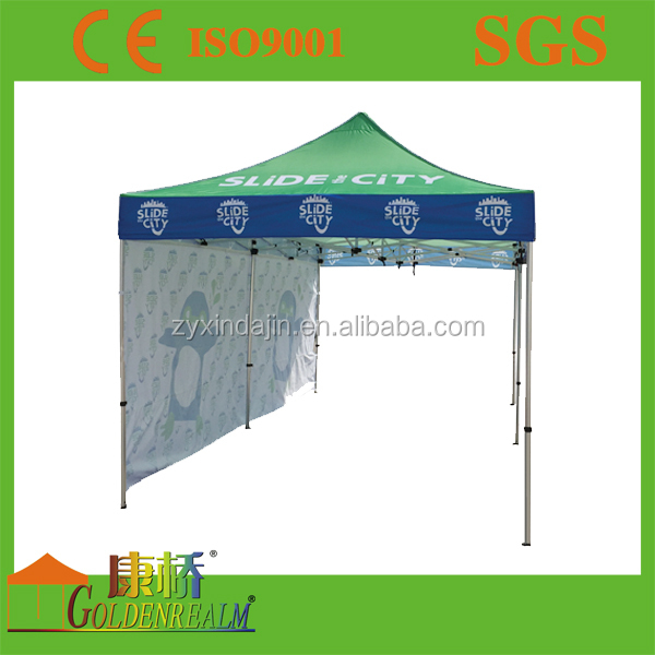 10/15/20ft Dye Sublimation logo&design printed promo tents